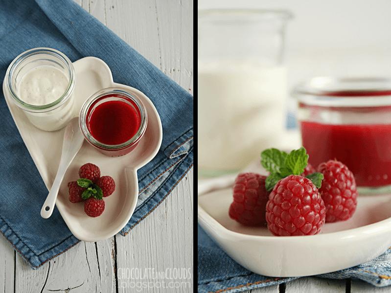 joghurt mousse mit himbeer coulis rezept