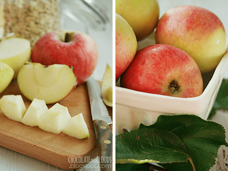apple cinnamon oatmeal rezept