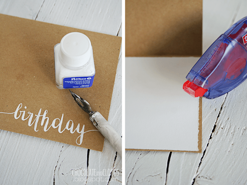 clouds birthday card diy