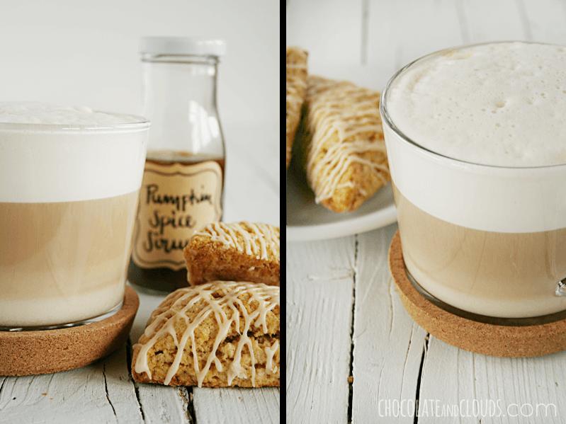 pumpkin spice latte sirup rezept
