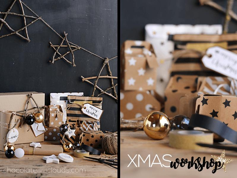 Salzteig Geschenkanhanger Und Verpackungs Ideen Chocolate Clouds