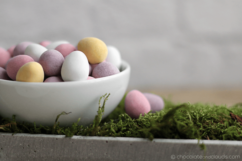 mini eggs petits fours rezept für ostern