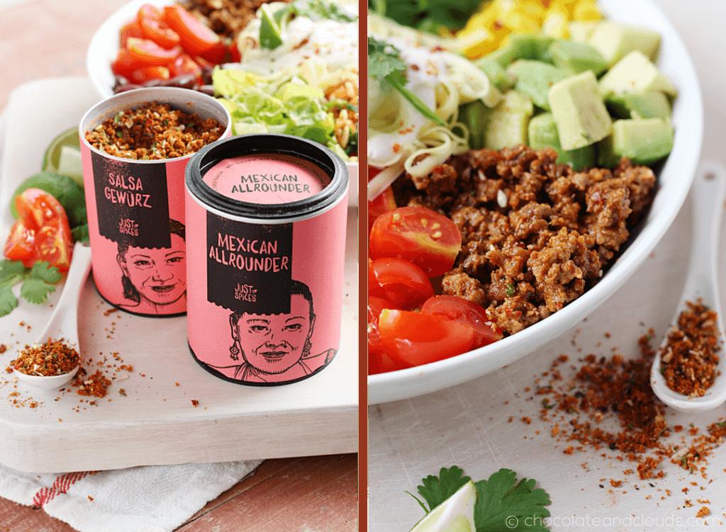 taco hackfleich rezept für burrito bowl rezept