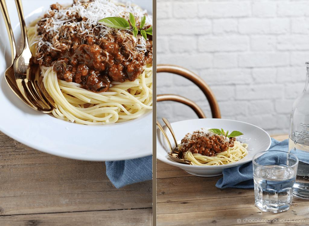 schnelle bolognese sauce rezept mit gemüse und speck