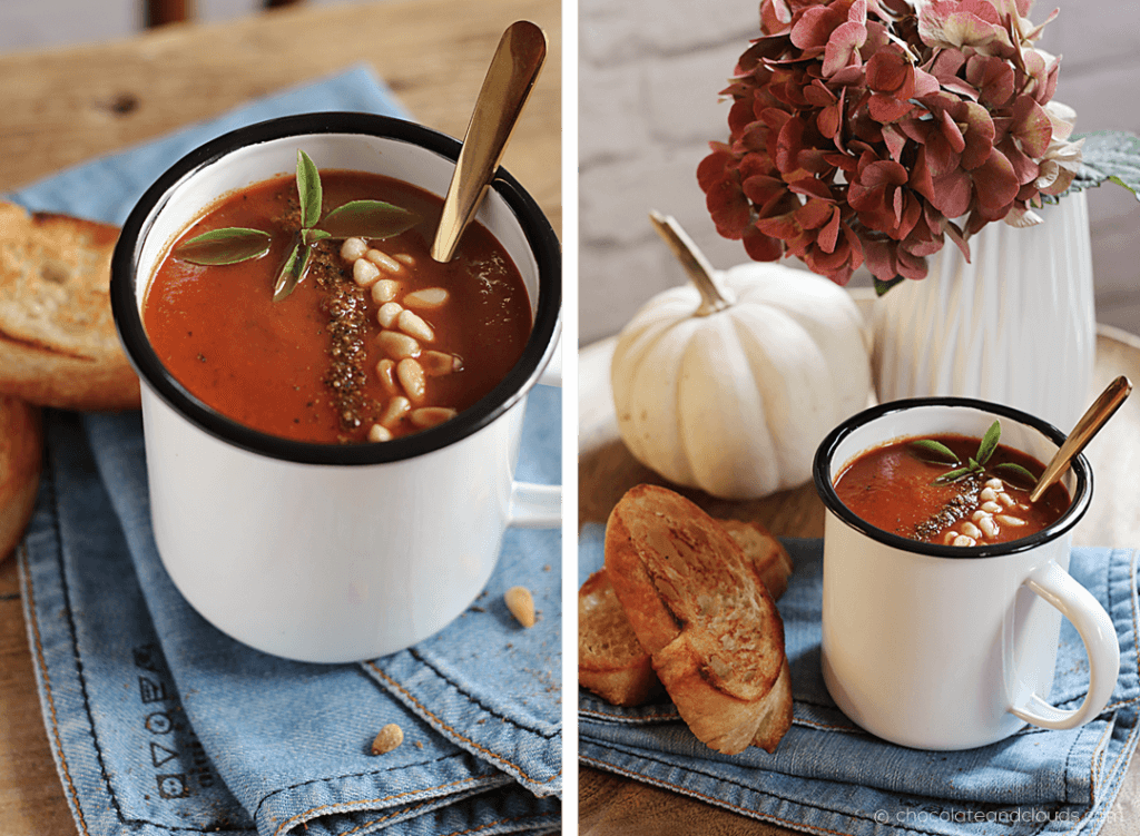 blitz schnelle tomatensuppe rezept