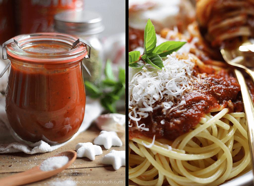 Tomatensauce auf Vorrat einkochen schnelles Rezept