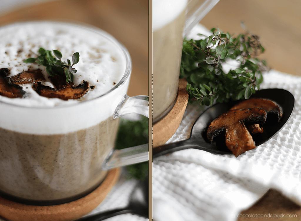 champignon creme suppe rezept