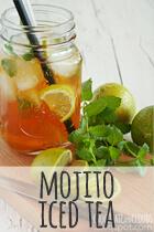 mojito iced tea rezept