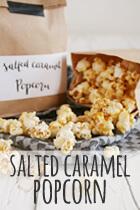 salted caramel popcorn rezept
