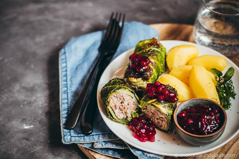 schwedische kohlrouladen rezept